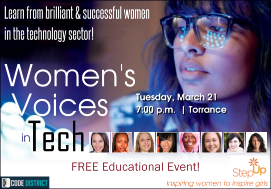 Women Voices in Tech Code District Interconnected Strategy