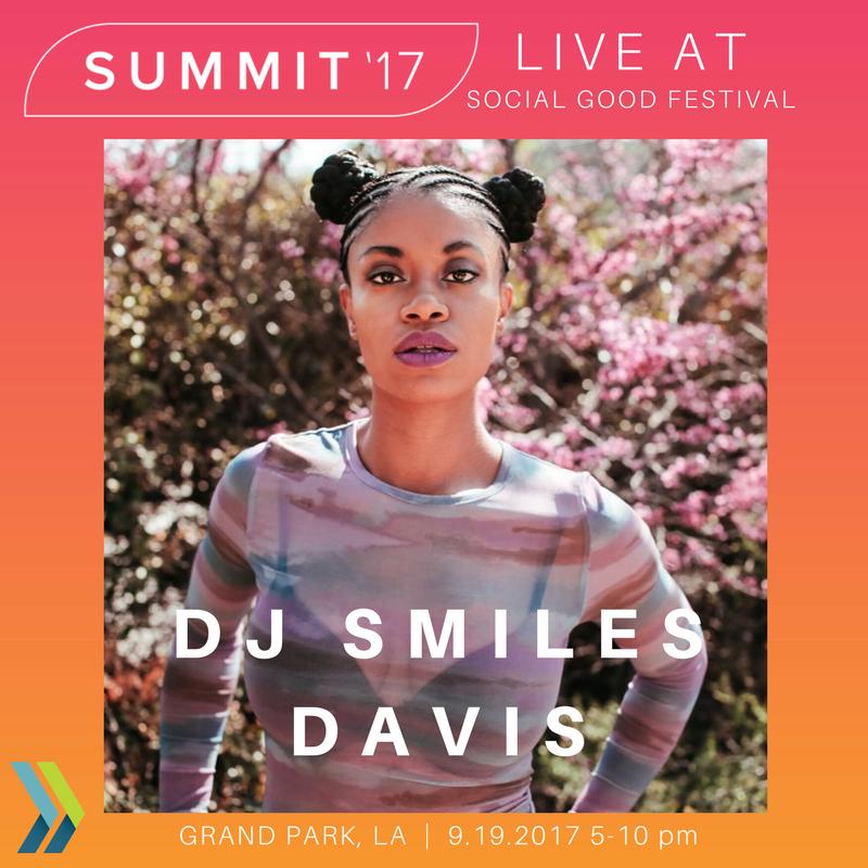 Social Good Festival DJ Smiles Davis